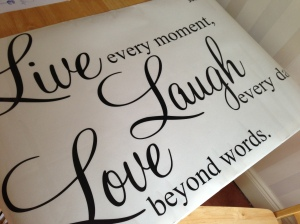 Quote Decal