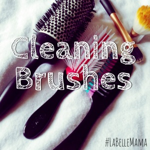 Cleaning Hairbrushes and Makeup Brushes