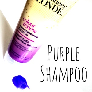 Sheer Blonder Purple Shampoo