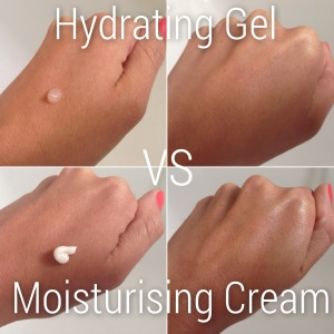 Gel vs Cream Moisturiser