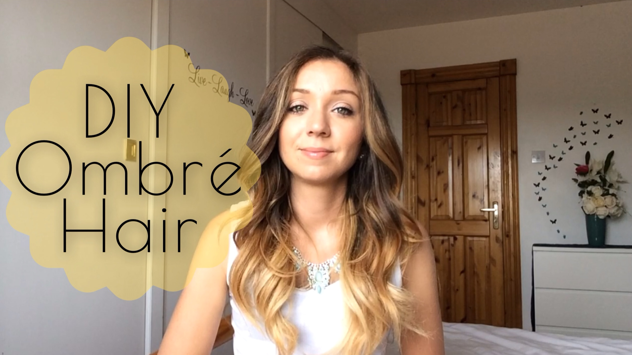 Diy Ombre At Home Touching Up Ombre La Belle Mama