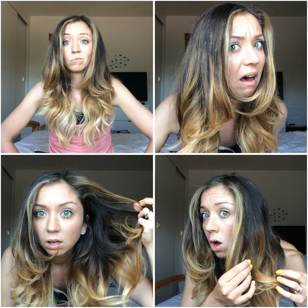 DIY Ombré at Home / Touching up Ombré | La Belle Mama ♥