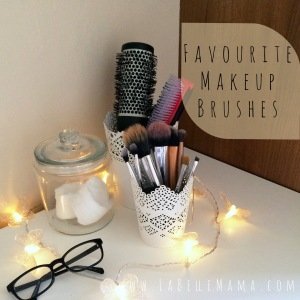 Favourite Make Up Brushes
