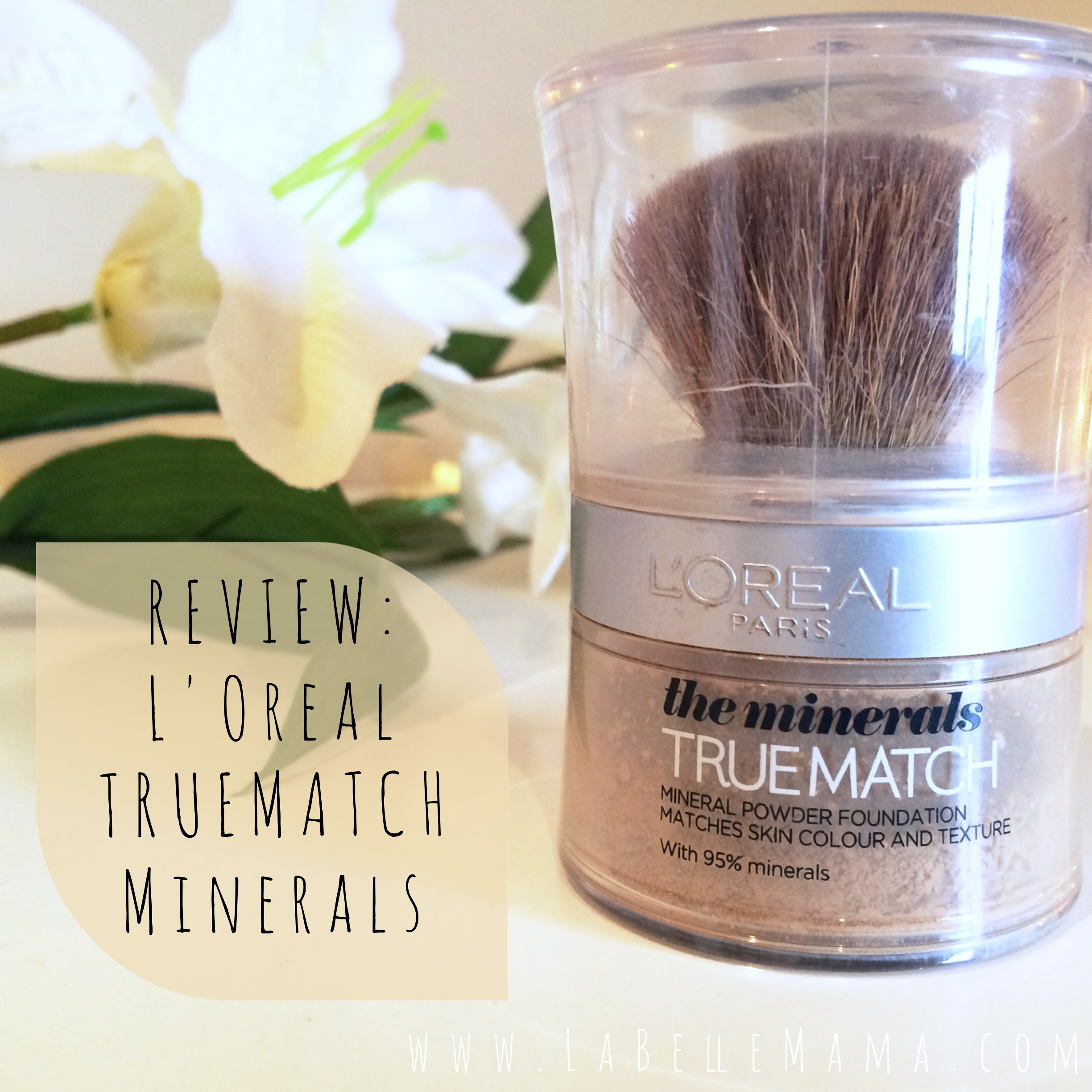 loreal mineral foundation